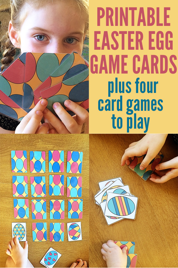 Printable Easter Egg Game Cards } Childhood 101