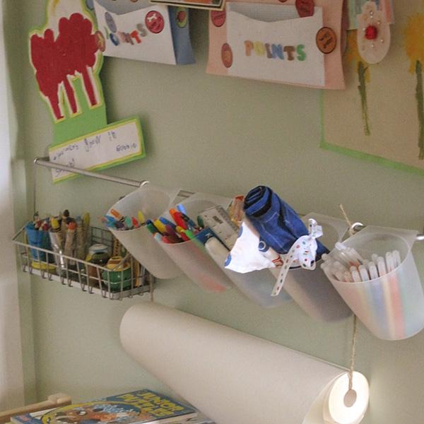Kids Art Space Ideas