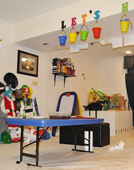 A Basement Play Space
