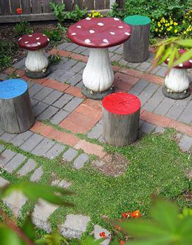 fairy-garden-toadstool-mushroom-stools