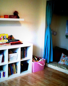 Our Play & LEarn Room