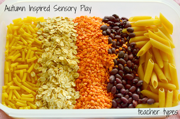 Autumn Sensory Play Ideas