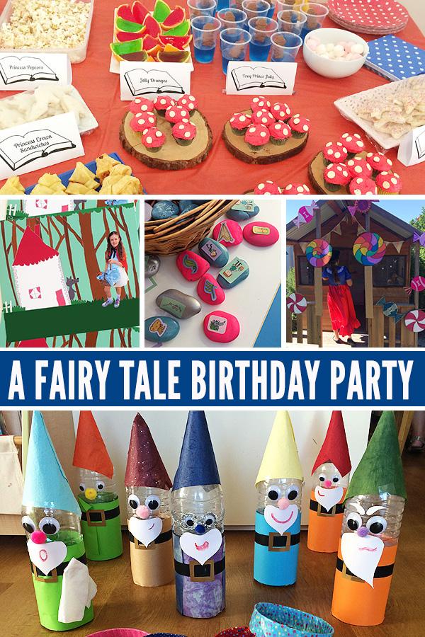 Fairy tale themed party ideas