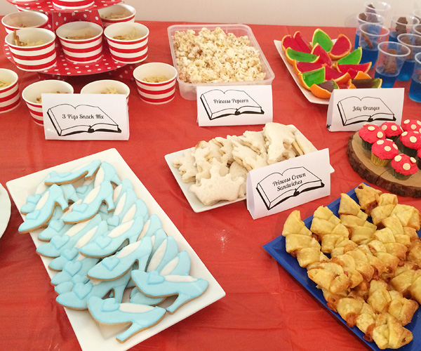 Fairy tale themed party food ideas