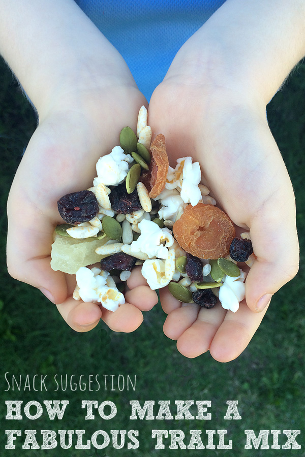 Kids Snack Ideas: How to Make a Fabulous Trail Mix
