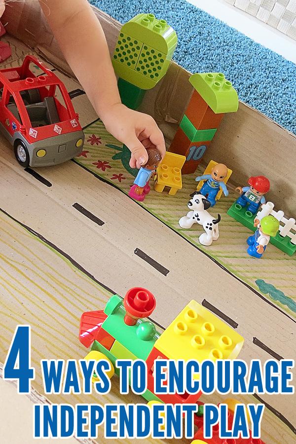 4 Fun Ways To Encourage Independent Play