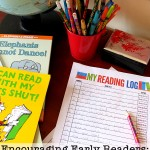 Printable Reading Log and how we are using it to support our early reader.