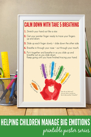 Poster mock up template with office items and painting brushes on wooden table