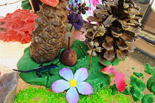Garden themed party activity ideas