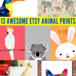 13 Awesome Animal Prints from Etsy