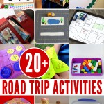 20+ Road Trip Activity Ideas for kids of all ages
