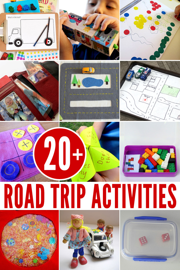20+ Road Trip Activity Ideas