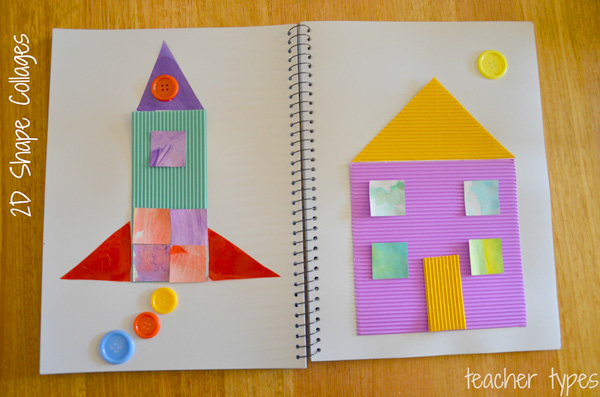 Learning about Shapes: 2D and 3D Shapes Learning Activities