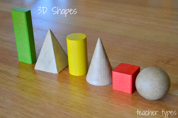 Learning about Shapes: 2D and 3D Shapes Math Learning Activities