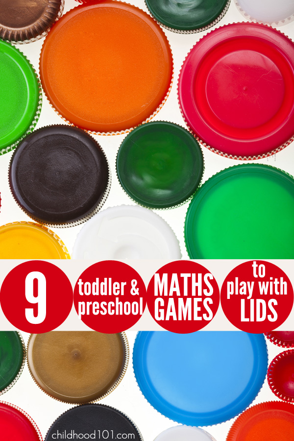 9 Maths Games to Play with Lids