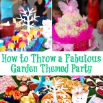 How to Host an Awesome Garden Themed Birthday Party