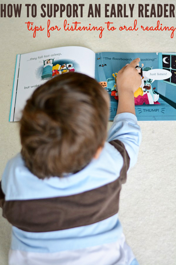 5 Tips for Helping Beginning Readers