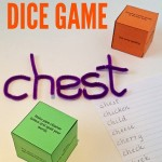 Spelling Dice Game Printable