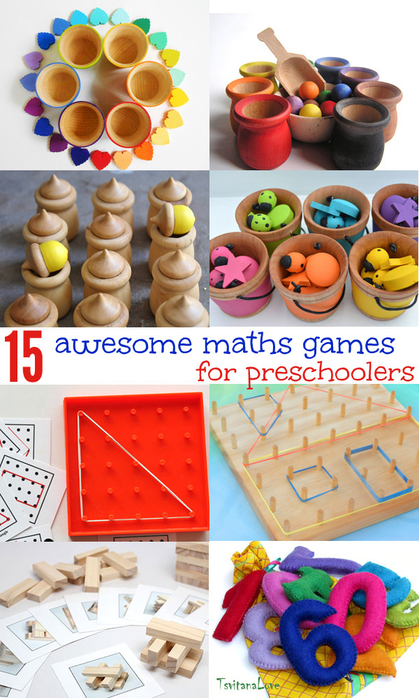 15 cool math games and resources for preschoolers. Resources for learning about number, shape and measurement.