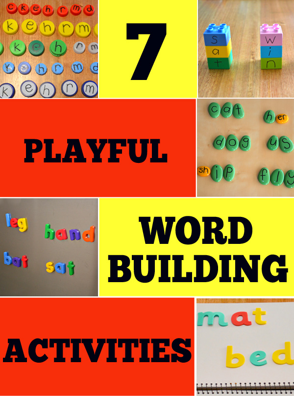 7 Wonderful Word Building Activities