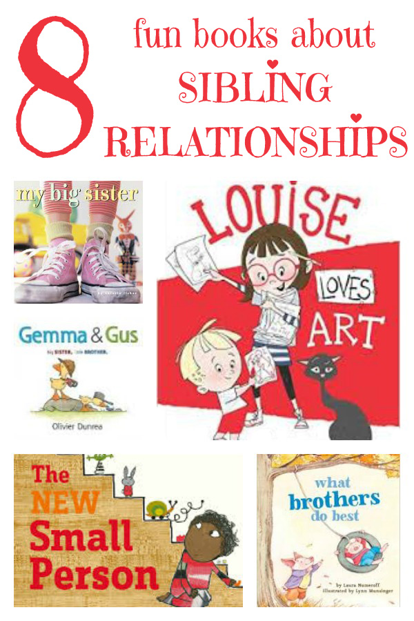 8 Fun Picture Books About Sibling Relationships