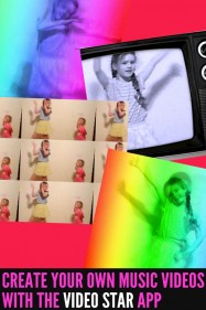 Create fun music videos with awesome effects with the Video Star app