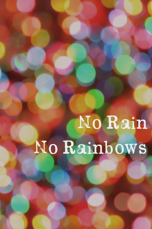 No Rain, No Rainbows: Lessons Learnt Through Tough Times