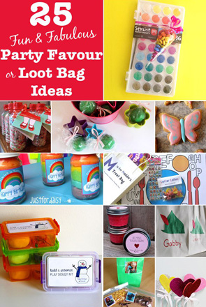 Party Favour And Loot Bag Gift Ideas