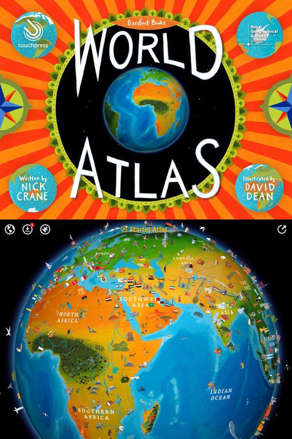 Barefoot Books World Atlas App