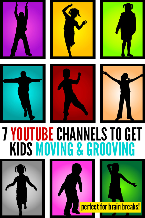 Brain Breaks: 7 YouTube Channels to Get Kids Moving & Grooving