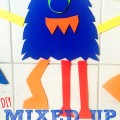DIY Mixed Up Monsters for Bathtime Play