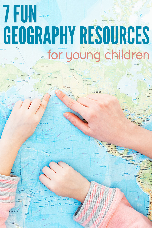 Fun Geography Resources for Young Children