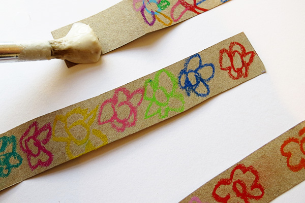 Gardening with kids: Make Seed Tape. A great gift or party favour idea.