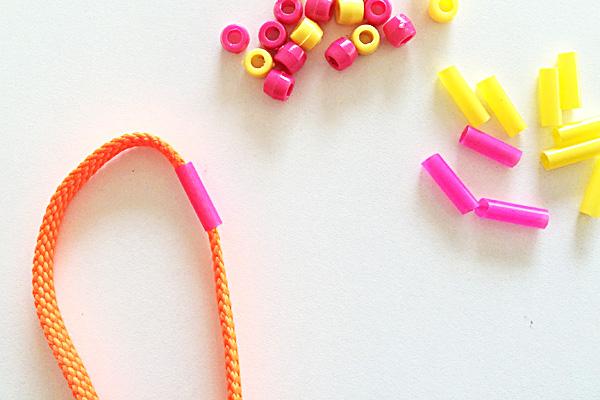 Tween Craft Ideas: How to Make a Shoelace Ladder Bracelet