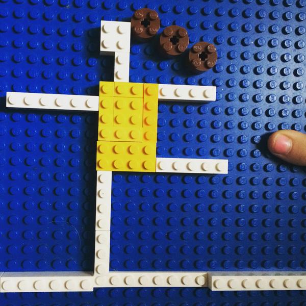 Making Lego mosaics
