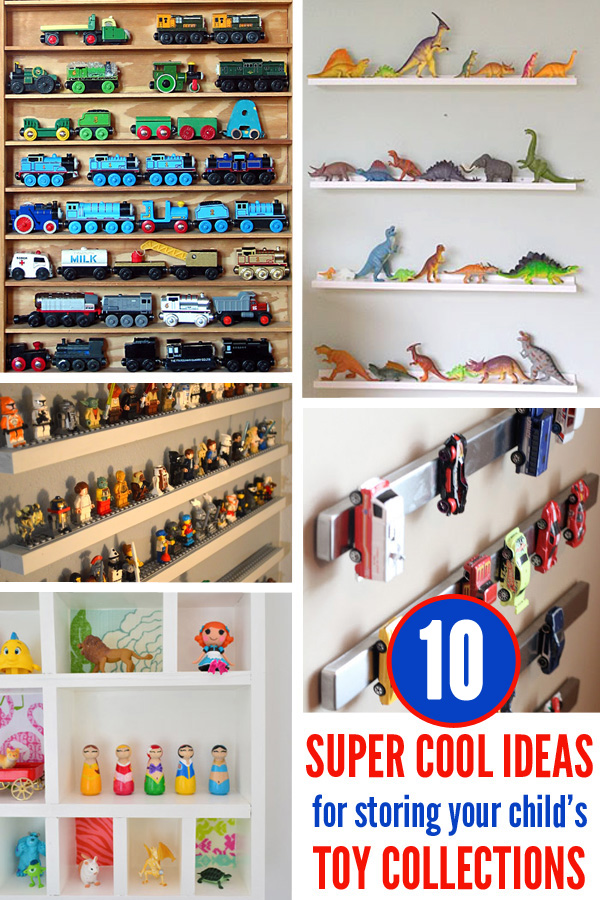 10 Super Cool Ways to Store Your Child's Toy Collections