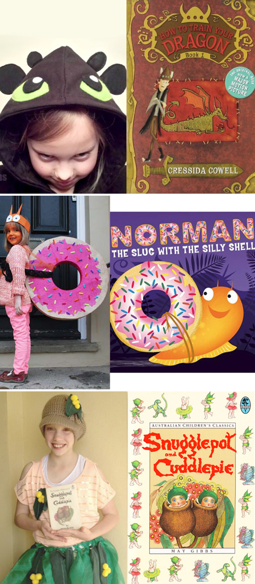 15 Simple-to-Make Book Inspired Costumes for Book Week or World Book Day or Halloween