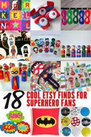 18 Cool Finds for Superhero Fans