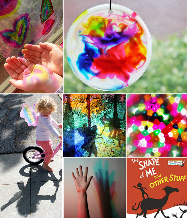 24 Light and Shadow Activities for preschool, kindergarten and early elementary