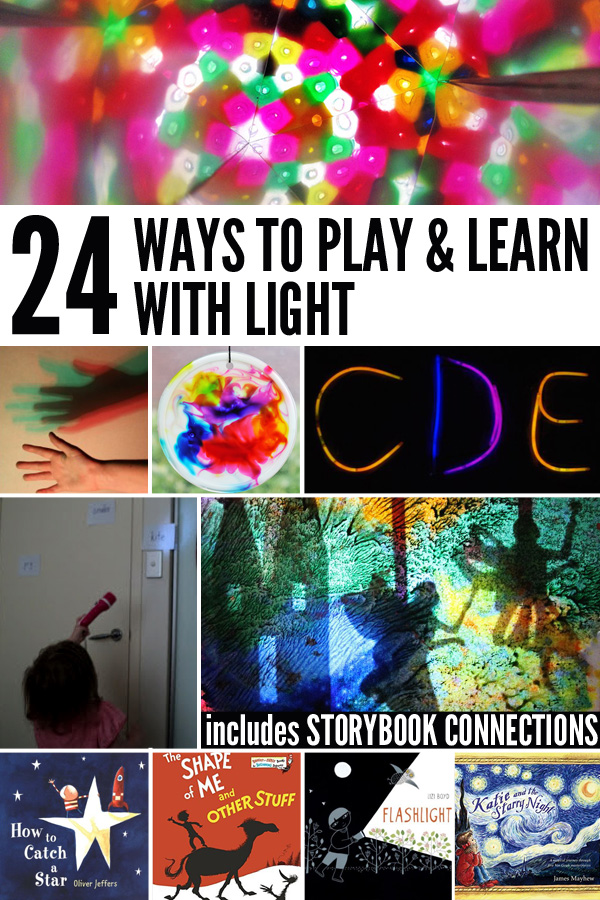 24 Day, Night & Light Themed Learning Activities