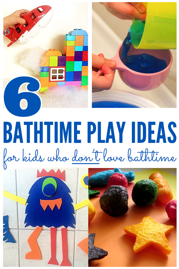 6 Bathtime Play Ideas