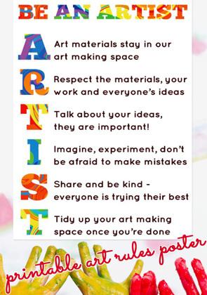 Art-Room-Rules-printable-poster-Childhood-101