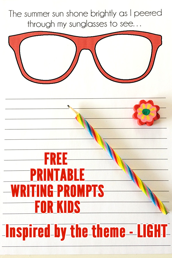 photo about Free Printable Writing Prompts identified as 5 Cost-free Printable Crafting Prompts for Small children