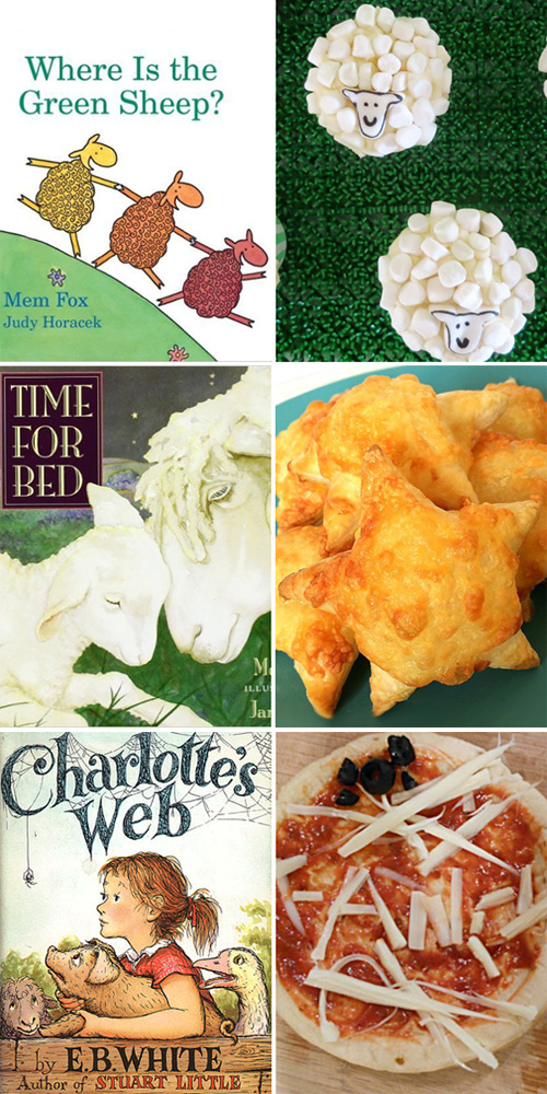 Book inspired snack ideas for kids. Perfect for Book Week, International Book Day or any day!
