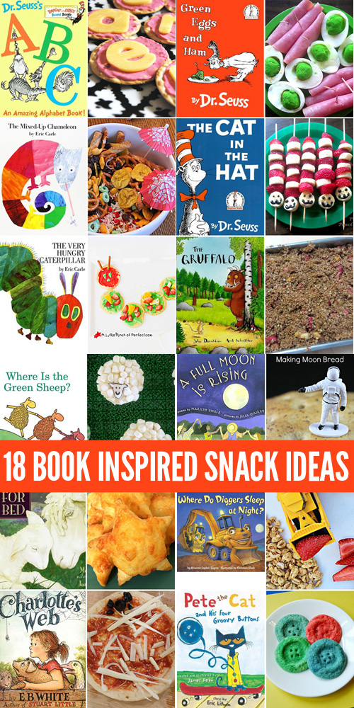 18 Book Inspired Snacks for Kids