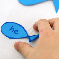 50 Sight Word Activity Ideas featured at Childhood 101