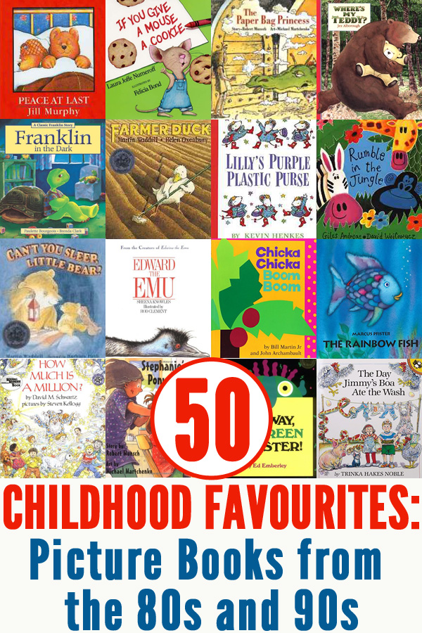 Popular Kids Books In Early S