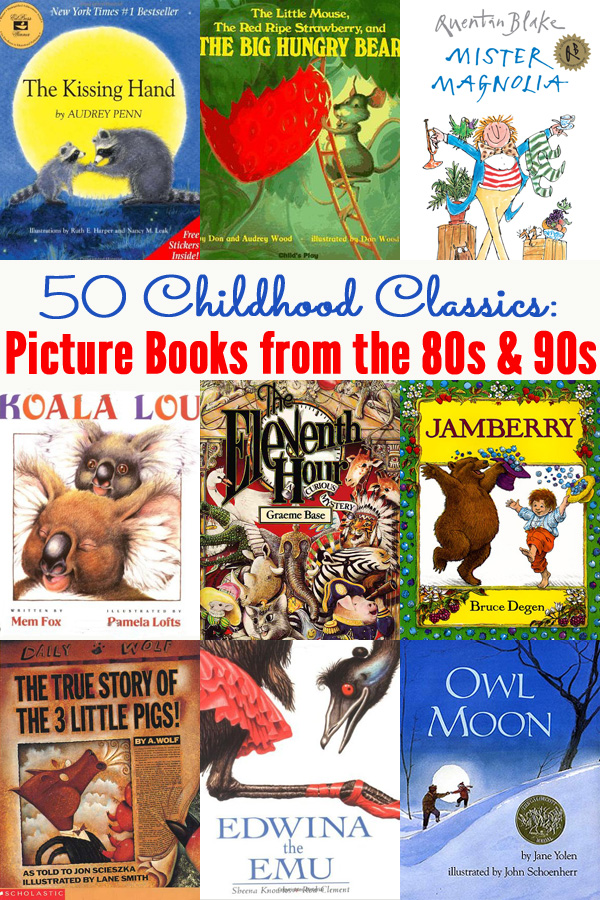 50 Classic Picture Books from the 80s and 90s