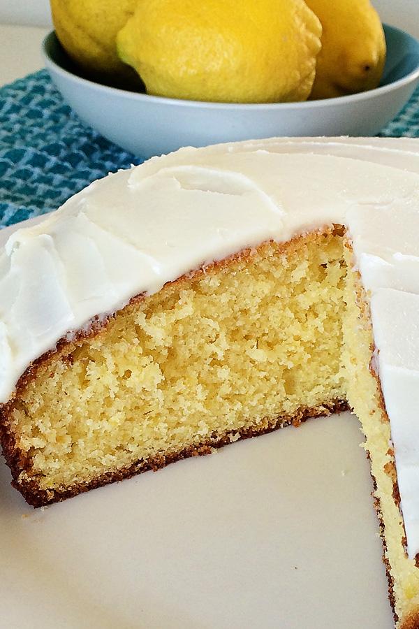 Lemon & Mango Yoghurt Cake Recipe