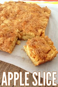 Deliciously SImple Apple Slice Recipe